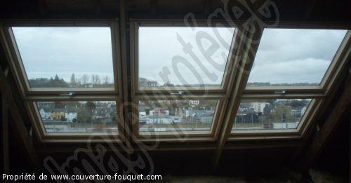 Fen tre de toit quimper pose fen tres de toit claude for Fenetre quimper